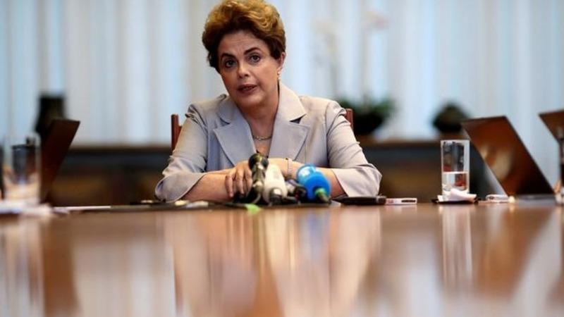 Brazil senate votes to impeach president