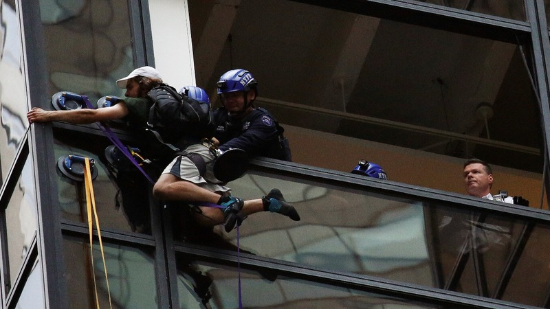 Trump Tower climber sought 'personal meeting' with Donald