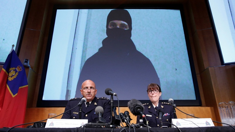 Canadian killed over terror plot