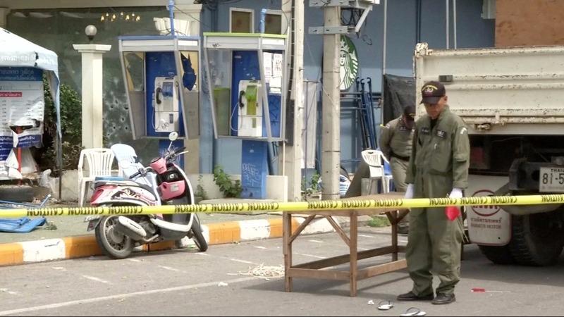 A string of blasts hit popular Thailand resorts