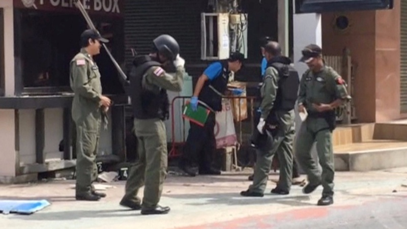 Thailand blames bomb spree on 'local sabotage'