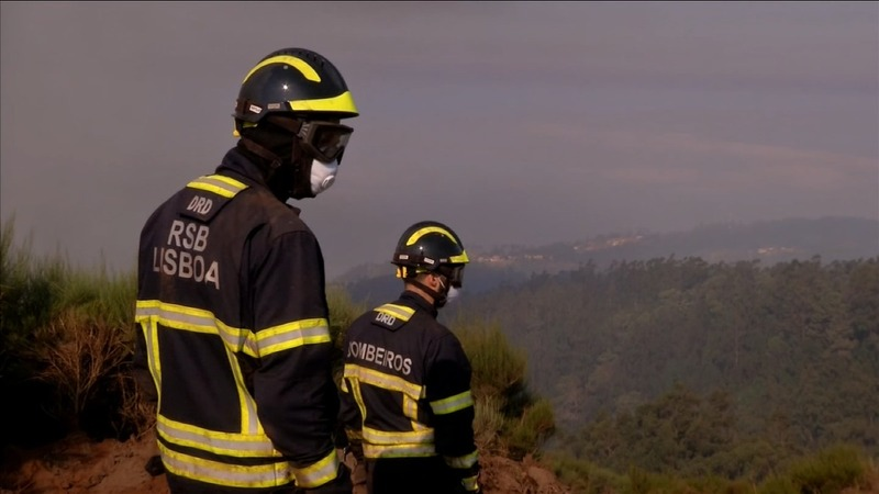 Portugal struggles with deadly wildfires