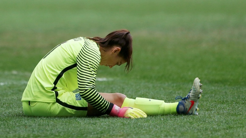 U.S. women's soccer team ends Olympic reign