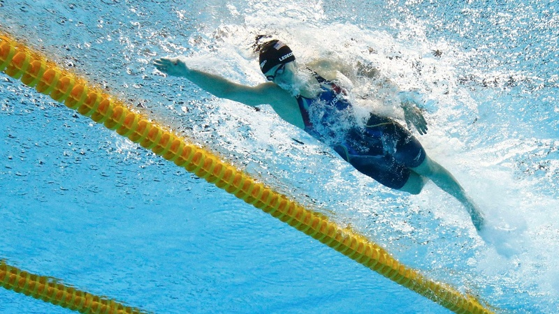 U.S. women swimmers dominate Rio