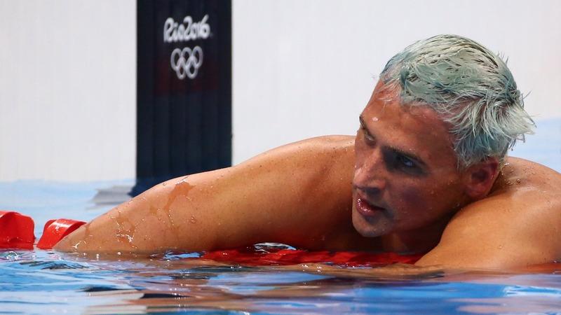 U.S. swimmer Lochte robbed in Rio
