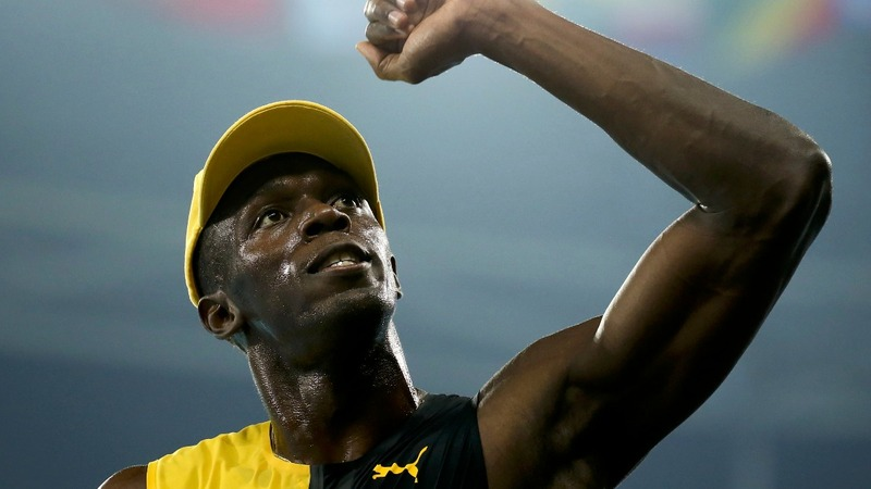 Bolt's triple triple: One gold, two to go