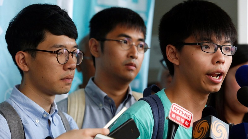 Hong Kong student activists sentenced
