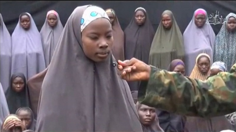 Missing Chibok girl seen in video - family