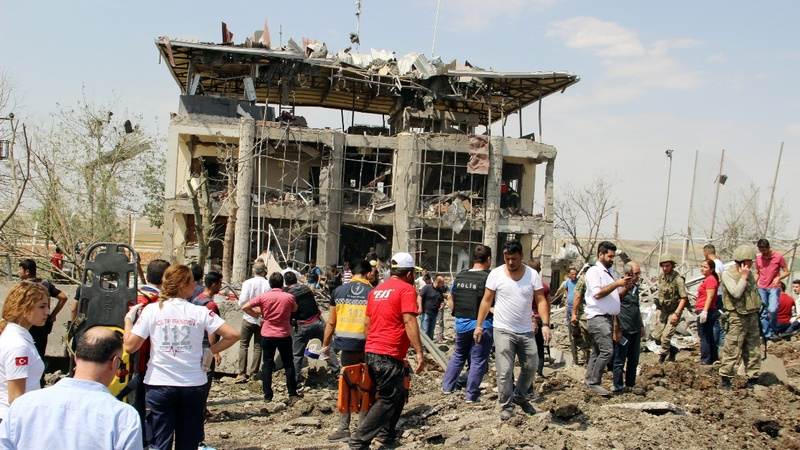 Three killed, 25 wounded in Turkey blast