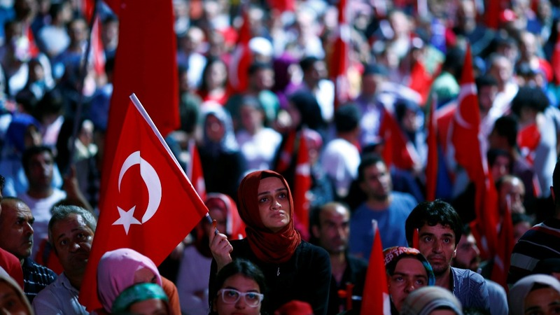 Turkish companies raided in post-coup purge