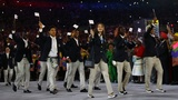 Olympic refugees honored in Rio de Janeiro