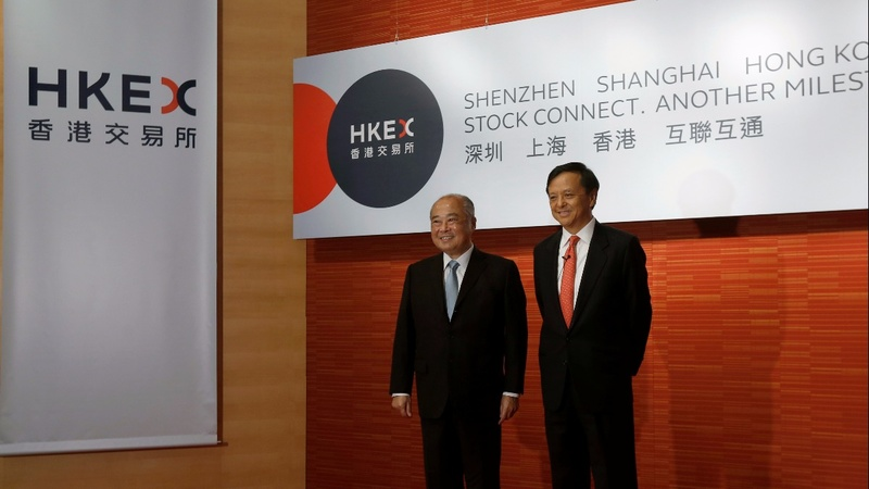 Hong Kong and China unite in stock market venture