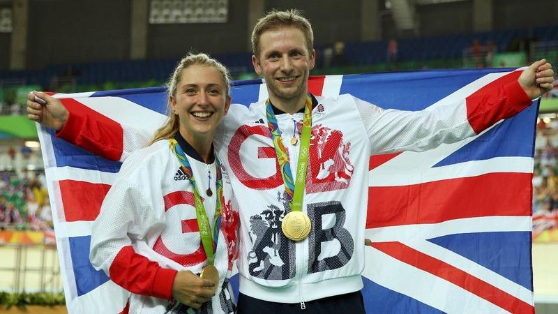 Britain dominates the velodrome at Rio