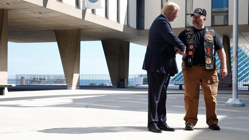VERBATIM: Trump attacks Clinton as anti-police