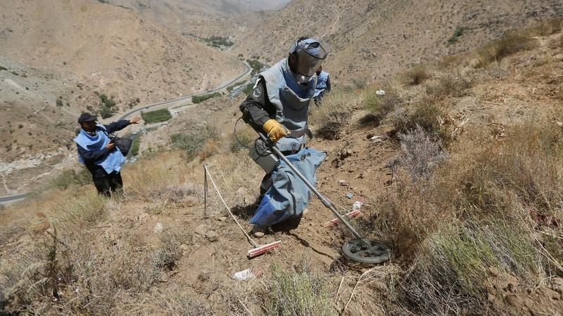 Soviet-era landmines still rock Afghanistan
