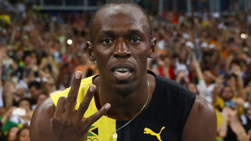 Bolt wins 9th gold and historic 'triple triple'
