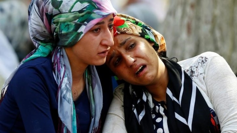 Bomb at Turkey wedding kills at least 50