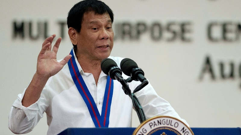 Philippines' Duterte threatens to quit the UN