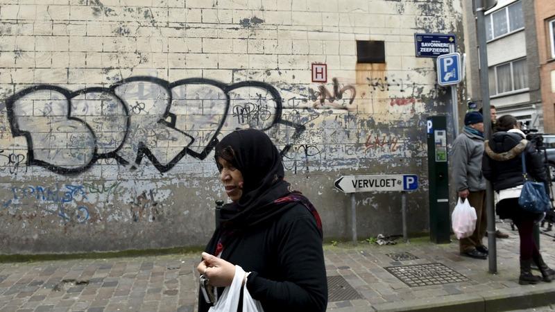Tourists, not terrorists take over Molenbeek