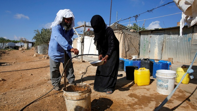 War of words over West Bank water shortages