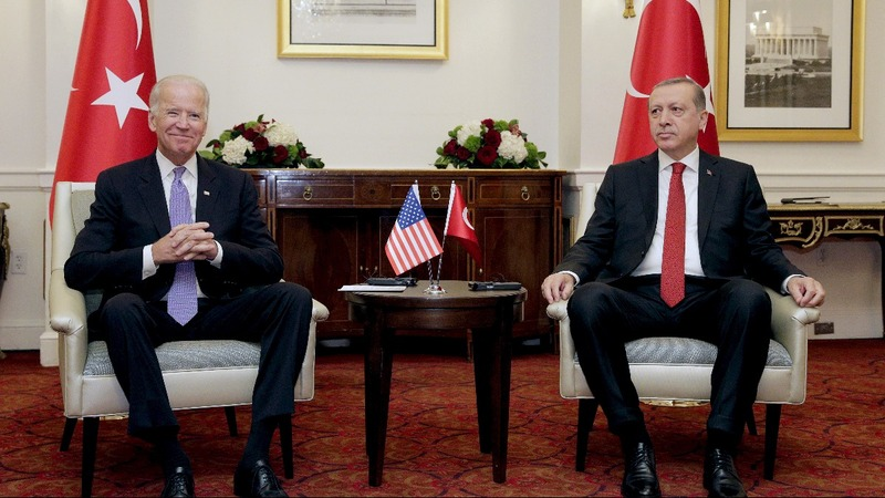 Biden aims to soothe U.S.-Turkey feud