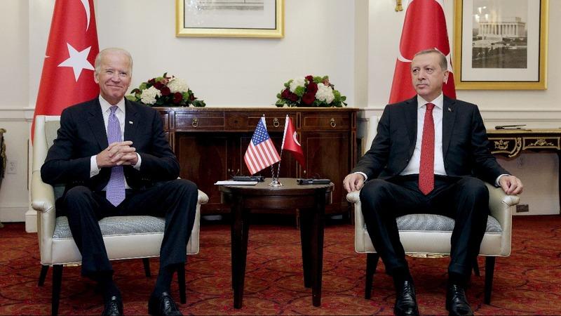 Biden aims to soothe U.S.-Turkey feud