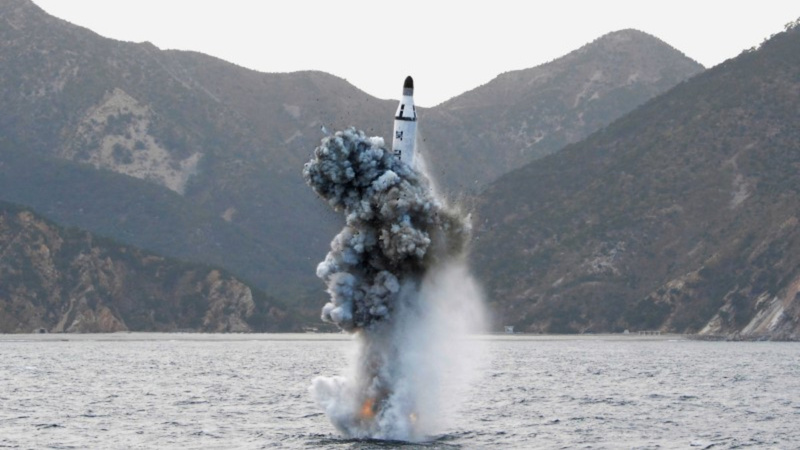 N. Korea fires ballistic missile from submarine