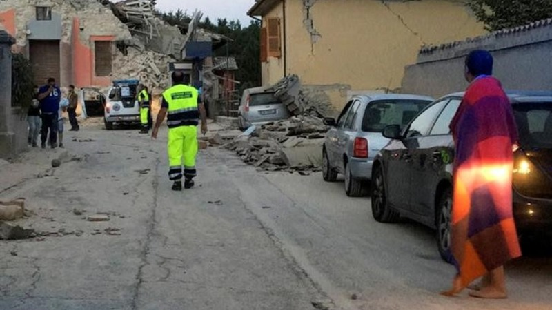 Dozens killed in strong Italy earthquake