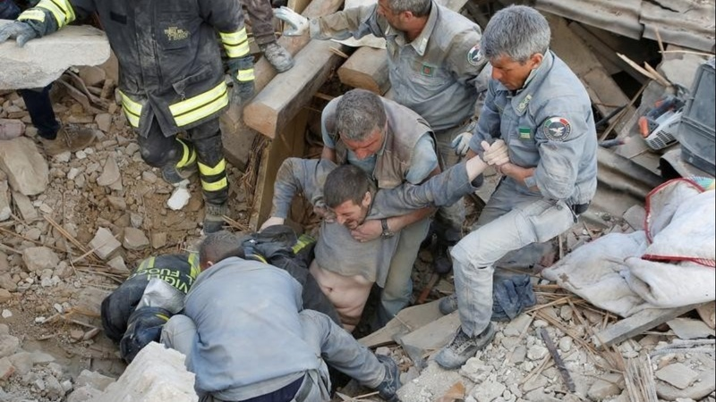 Rescue underway after Italy quake kills 120