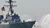 Iran 'harasses' U.S. warship near the Gulf