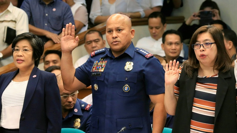 Philippines police defend deadly drug war