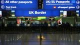 UK migration still at near record highs
