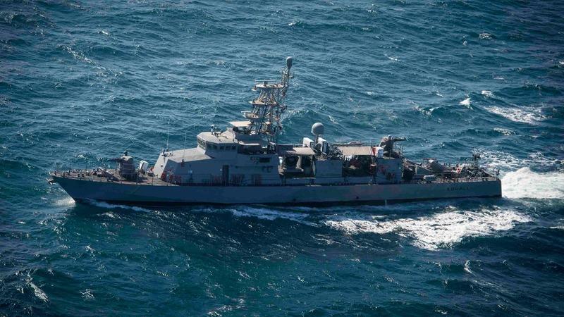 U.S. Navy fires off a warning at Iranian boat