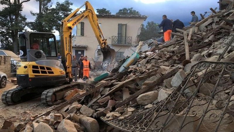 Aftershocks slow Italy quake rescue efforts