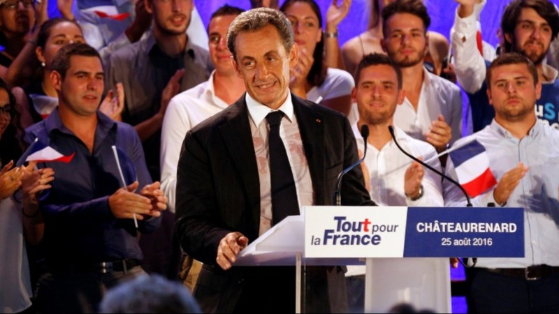Sarkozy talks tough on comeback trail