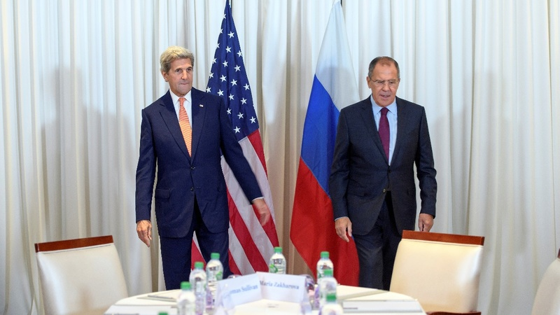 Kerry and Lavrov strive for Syria deal
