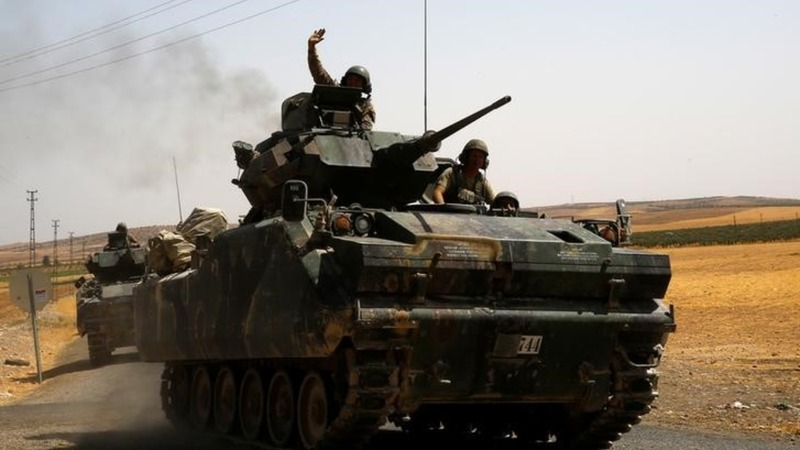 Turkey and U.S. at odds over Syrian offensive