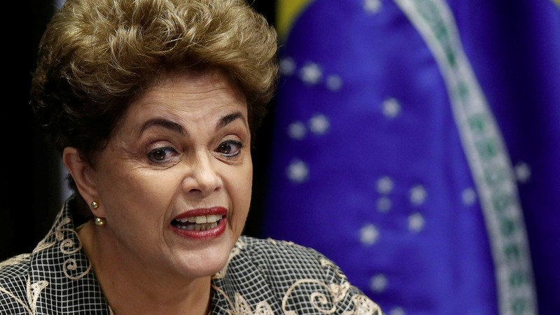 Rousseff says Brazil's future at risk if she's impeached
