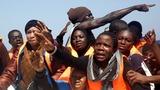 Massive influx of migrants into Italy