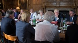 May holds Brexit Chequers cabinet