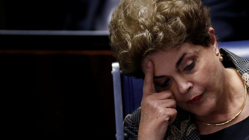 Brazil's Rousseff impeached for breaking budget laws