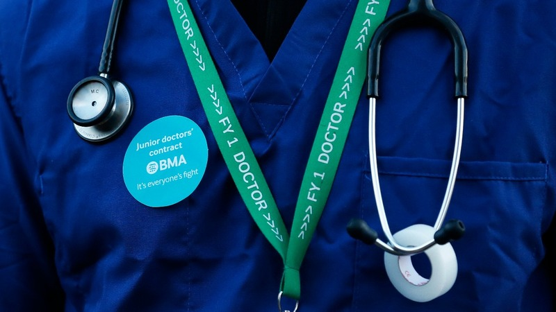 UK 5-day doctor strike 'irresponsible'
