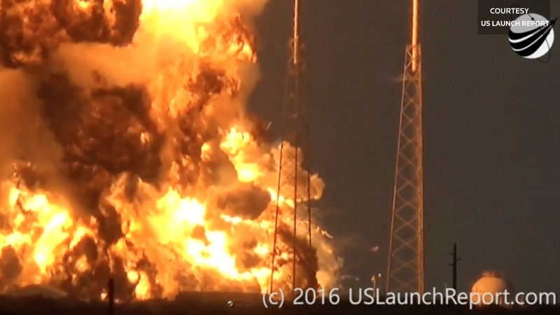 Another fiery setback for SpaceX