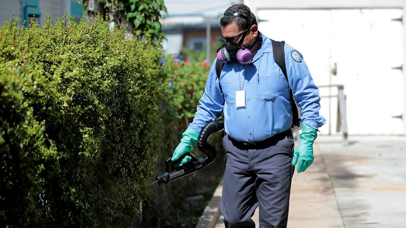 Pesticides a controversial weapon against Zika