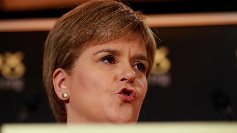 VERBATIM: Sturgeon's doorstep push