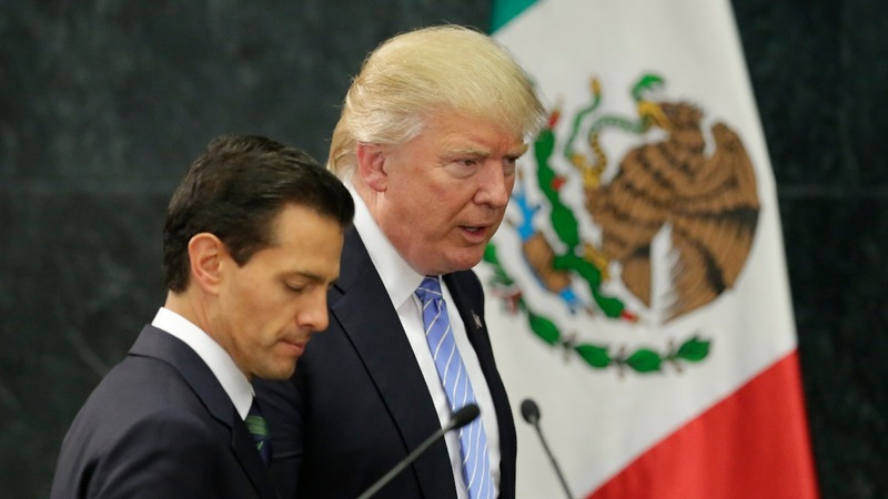 Mexicans outraged by Trump visit