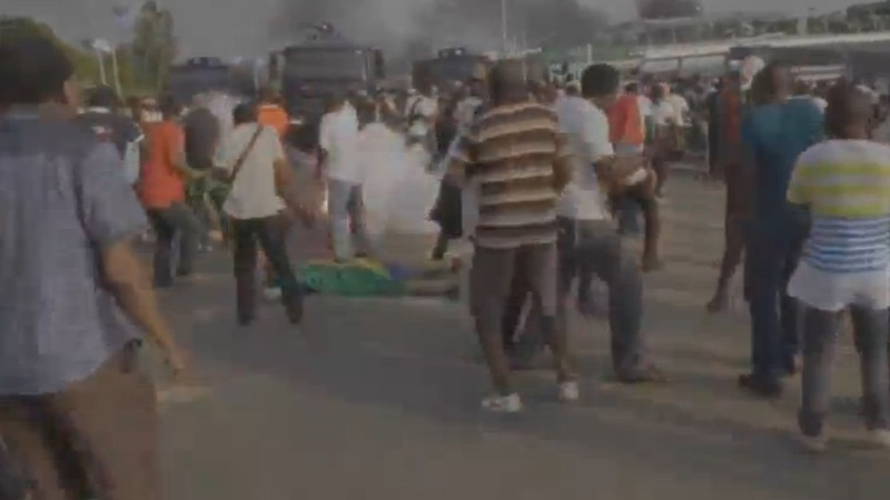 Riots rage in Gabon capital, several dead