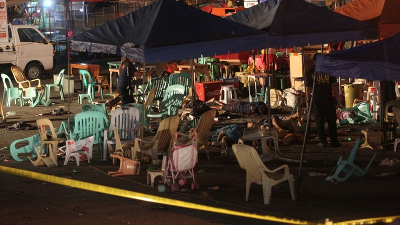 Blast kills 12 in the Philippines