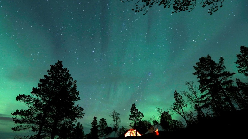 INSIGHT: Northern Lights on Finnish Lapland