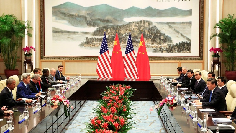 U.S., China G20 talks begin with airport row
